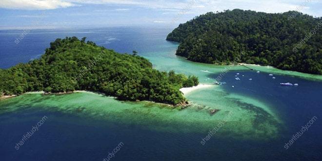 جزیره تونکو عبد الرحمان (Tunku Abdul Rahman Park)